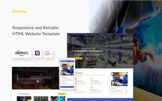 Fabricator - Industrial Company HTML5 Website Template