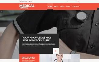 Medical Training Joomla Template