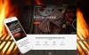 Responsive WordPress thema over BBQ Restaurant  New Screenshots BIG