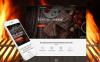 Responsives WordPress Theme für BBQ Restaurant  New Screenshots BIG