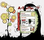 Flash: Web Design Web Design ArtWorks Flash Site Flash 8