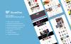 Responsivt StoreFlex - Multifunktionell OpenCart-mall En stor skärmdump