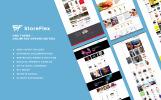Responsivt StoreFlex - Multifunktionell OpenCart-mall