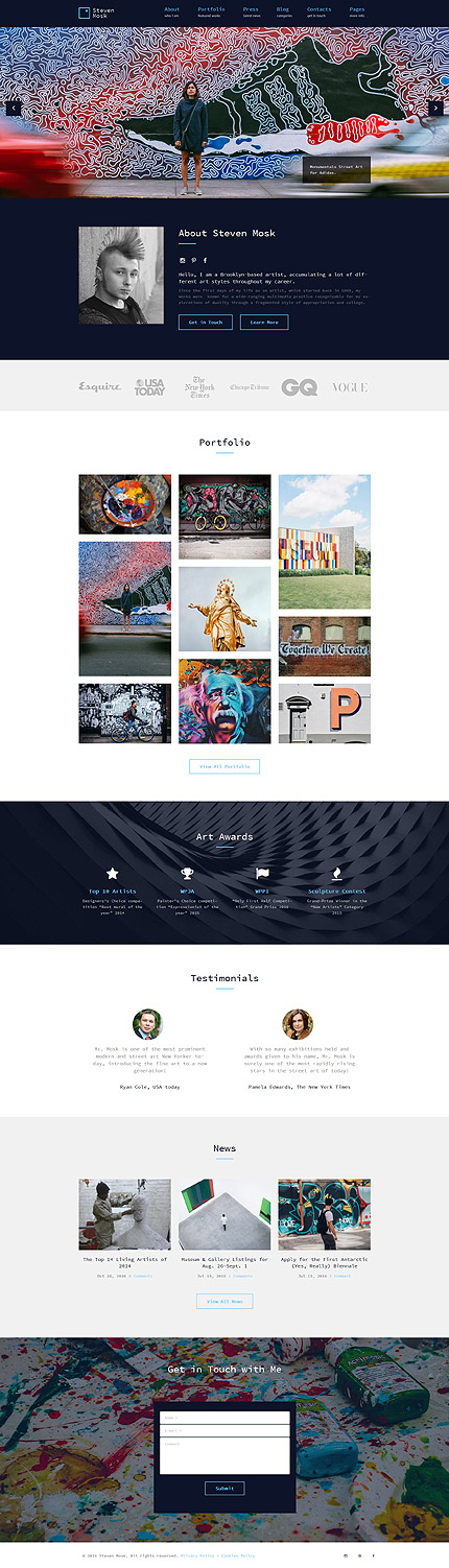 WordPress photoshop screenshot