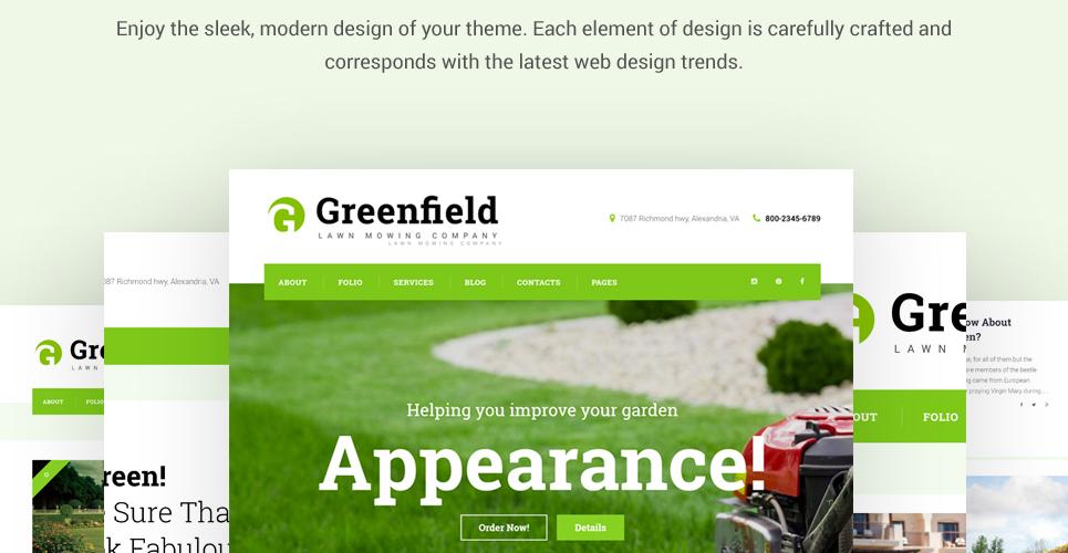 Lawn Maintenance WordPress Theme Lawn Maintenance WordPress Theme - 웹