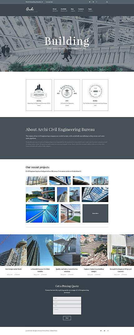 ADOBE Photoshop Template 61120 Home Page Screenshot
