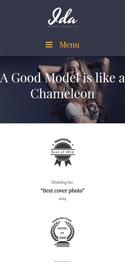 ADOBE Photoshop Template 61123 Home Page Screenshot