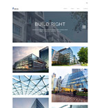 Architecture WordPress Template 61125