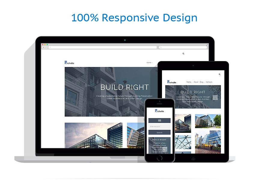 Thèmes WordPress Architecture #61125