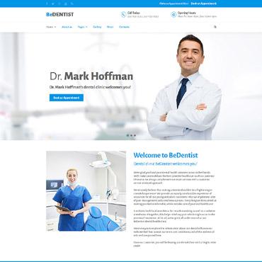 Купить Шаблон сайта стоматологической клиники -  BeDentist . Купить шаблон #61127 и создать сайт.