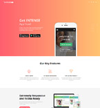 Software Landing Page  Template 61133