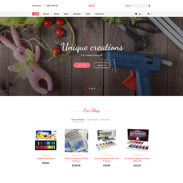 Preview image of Handmade - Creative Shop Virtuemart &