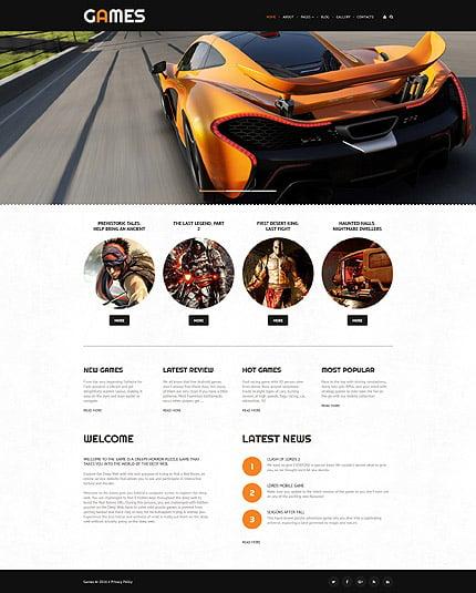Joomla Theme/Template 61139 Main Page Screenshot