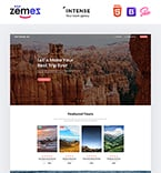 Travel Landing Page  Template 61143