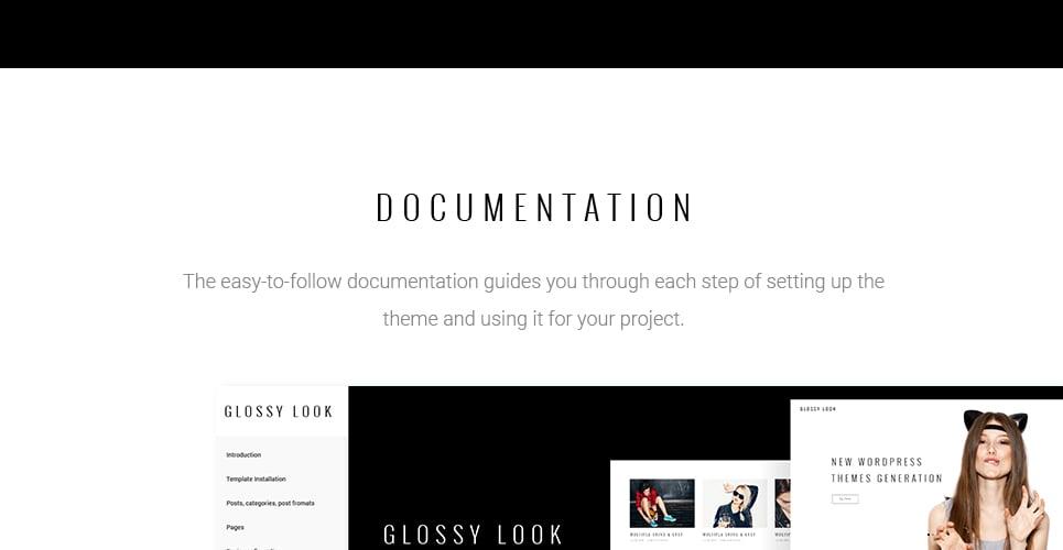 WordPress Theme #61147 für Mode-Blog