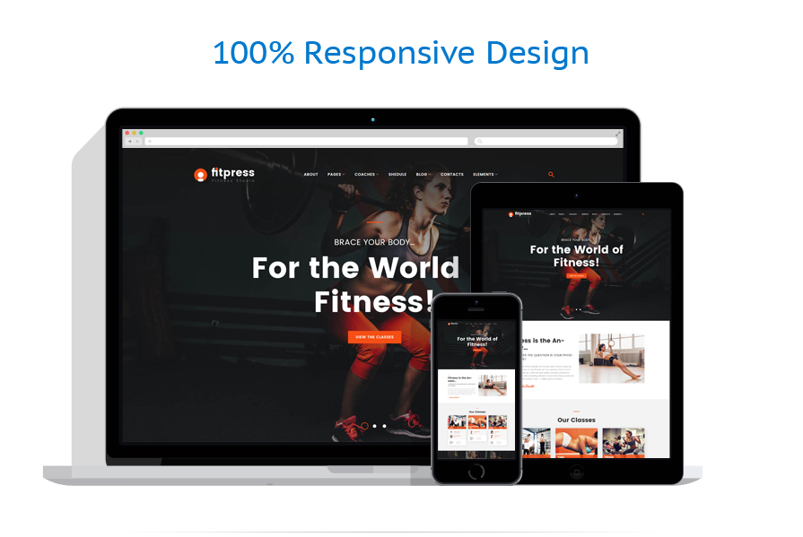 Thèmes WordPress Sport #61153