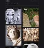 Art & Photography WordPress Template 61161