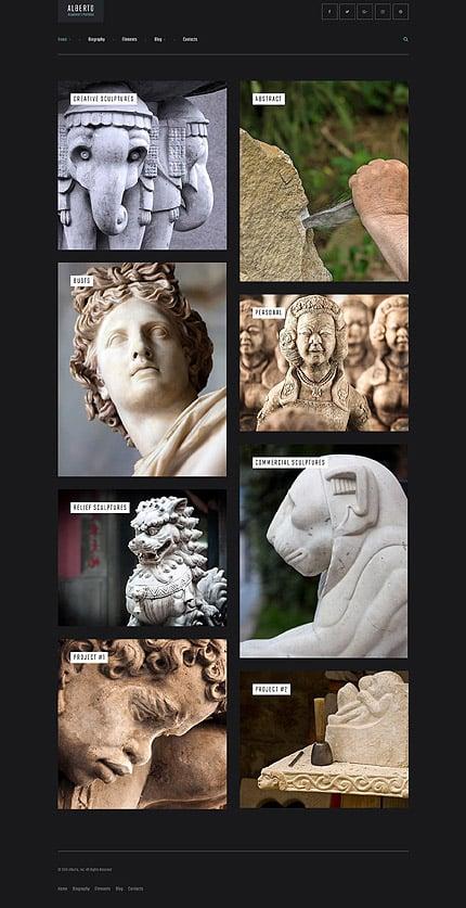 WordPress Theme/Template 61161 Main Page Screenshot