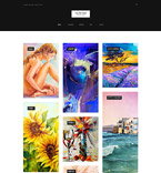 Art & Photography WordPress Template 61162