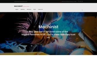 Machinist - Professional Industrial WordPress Theme
