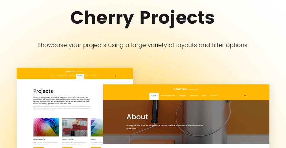 Paintelle - Painting Company WordPress Theme