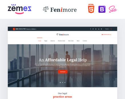 Law Website Template