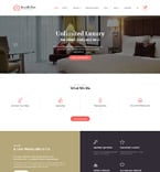 Hotels Website  Template 61178