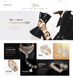 Jewelry PrestaShop Template 61179