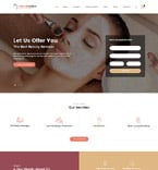 Beauty Website  Template 61181