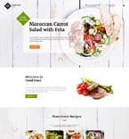 Food & Drink Website  Template 61184