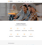 Education Website  Template 61185