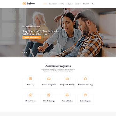 Купить  пофессиональные Bootstrap и html шаблоны. Купить шаблон #61185 и создать сайт.