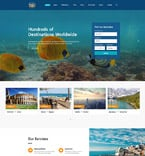 Travel Website  Template 61186