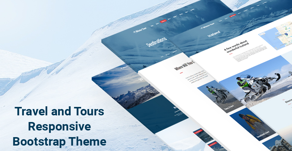 Winter Tour - Tour & Travel Agency Website Template