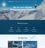 Travel Website  Template 61187