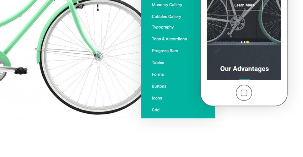 bike shop website template. Black Bedroom Furniture Sets. Home Design Ideas