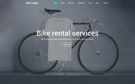 Bike Shop Website Template