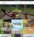 Furniture Magento Template 61190