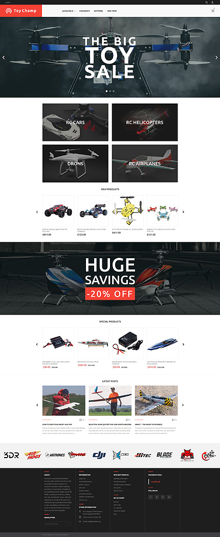 Magento Theme/Template 61192 Main Page Screenshot