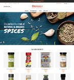 Food & Drink Magento Template 61194