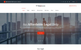 Адаптивний Шаблон сайту на тему юридична фірма