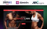 Адаптивний WooCommerce шаблон на тему спорт