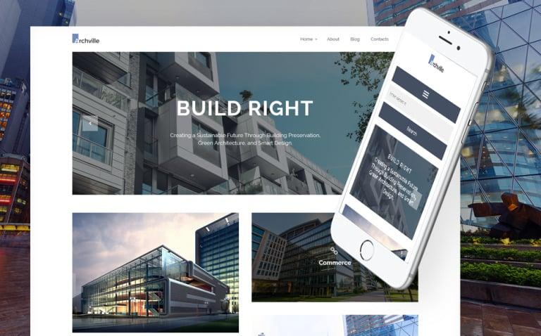 Archville - Architecture & Design Portfolio WordPress Theme New Screenshots BIG