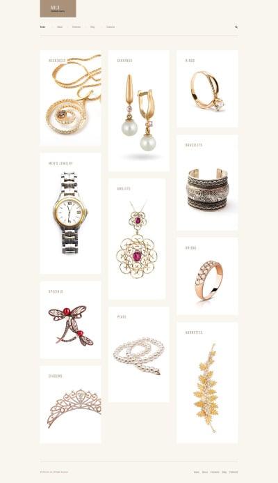 Arlo - Handmade Jewelry Artist Portfolio