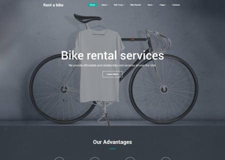 Bike Shop Site