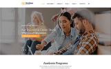 """Bradstone College - Colleges & Universities Multipage Clean HTML"" modèle web adaptatif"