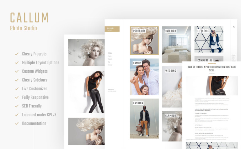 Callum - wedding photo gallery WordPress Theme New Screenshots BIG