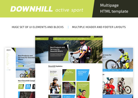 DownHill - Active Sport HTML5