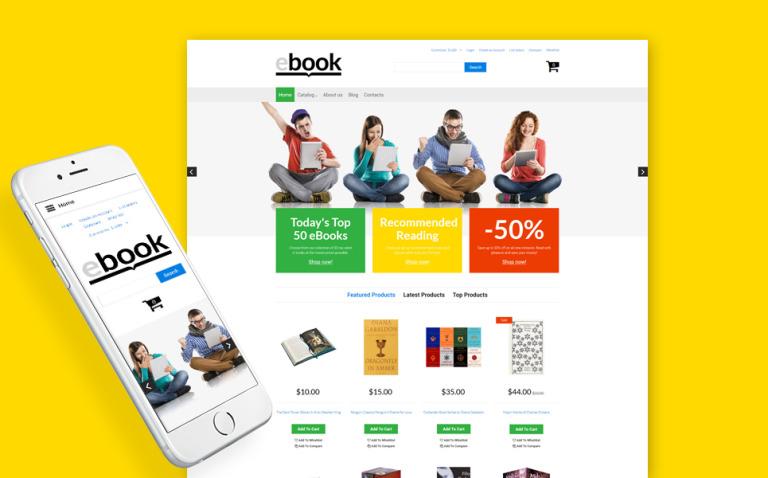 ebook VirtueMart Template New Screenshots BIG