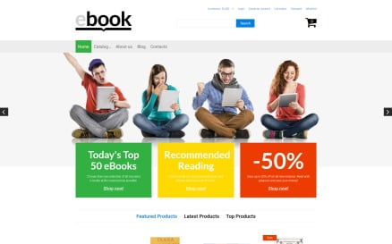 ebook VirtueMart Template